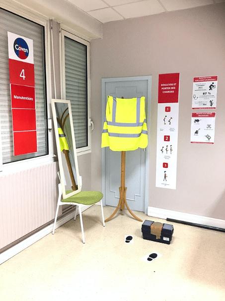 BTP CFA Aquitaine – Mise en place d'une Safety Room dédiée à la sensibilisation aux risques professionnels des apprentis